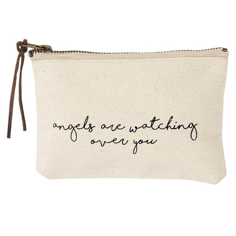 American Cancer Society Canvas Cosmetic Bag