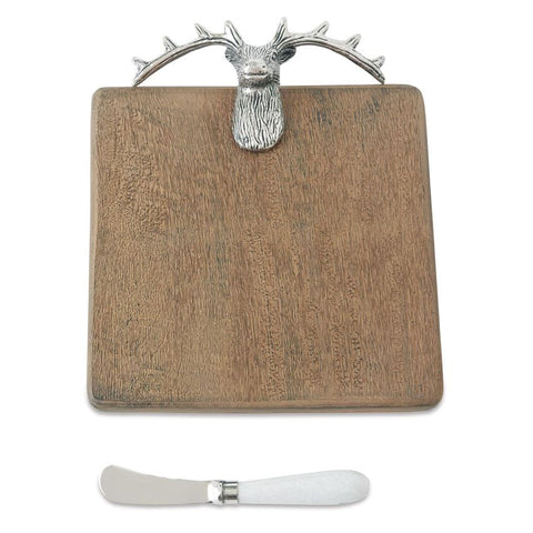 Deer Wood Bar Cutting Board Set
