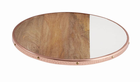 Copper Edge Lazy Susan