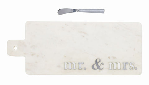 Marble Mr. & Mrs. Paddle Board Set