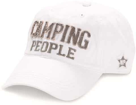 Camping People Adjustable Hat
