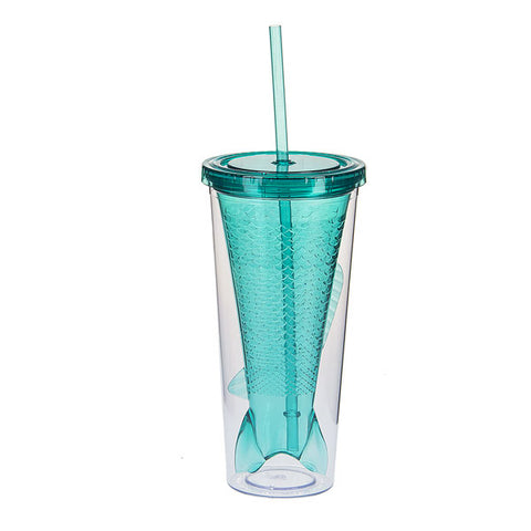 12oz Mermaid Tail Tumbler