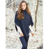 Campbell Turtleneck Poncho