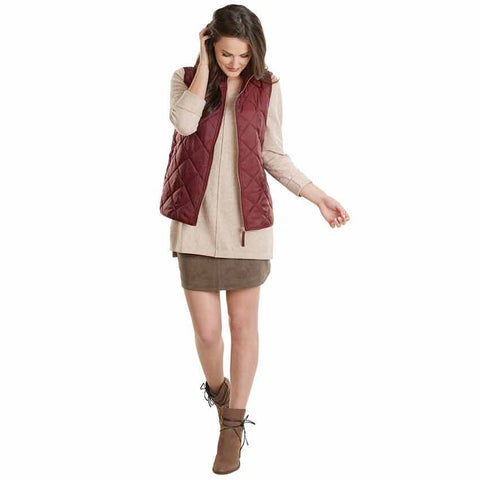 Spencer Quilted Vest in Multiple Colors