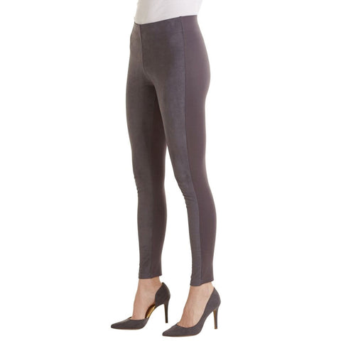 Cooper Suede Leggings Gray