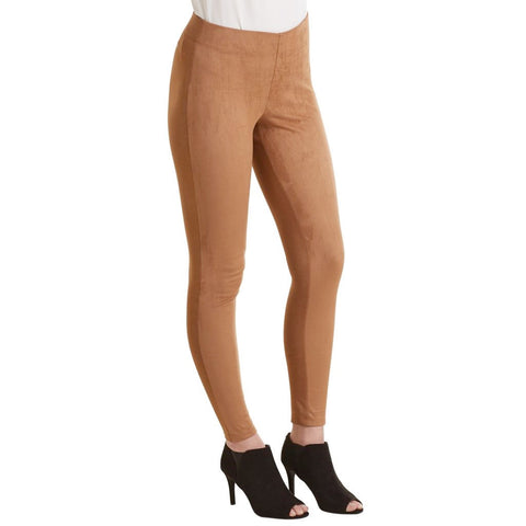 Cooper Suede Leggings Tan
