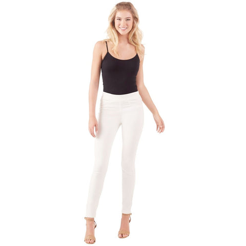 White Elyse Denim Legging