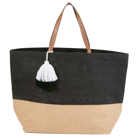 Color Pop Jute Tote