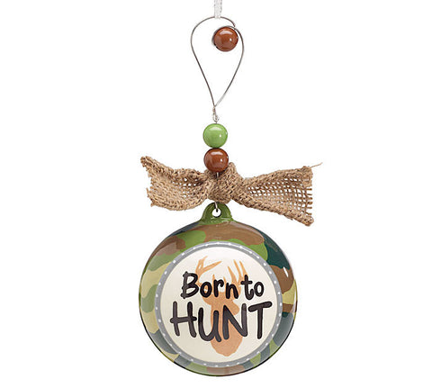 Born to Hunt Ornament