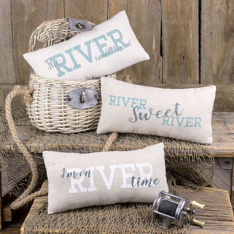 River Pillows