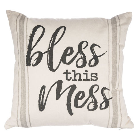 Bless This Mess Pillow