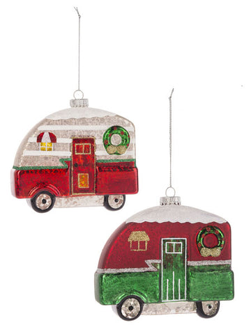 Christmas Camper Ornament