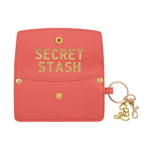 Credit Card Pouch - Coral