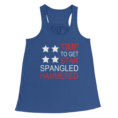 Star Spangled Hammered Women's Fit