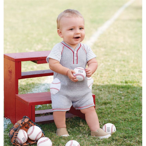 Baseball Raglan One-Piece