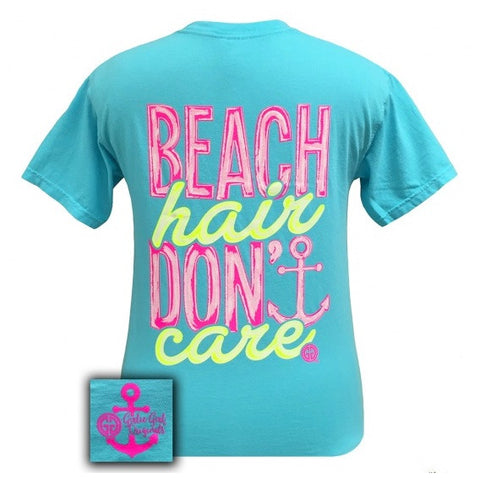 Girly Girl Beach Hair T-Shirt