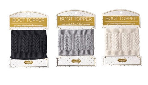 Knit Boot Topper