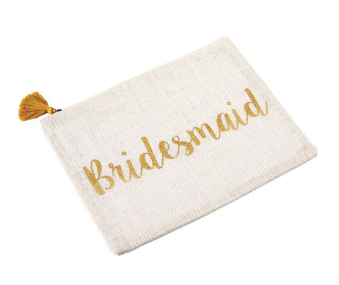 Bridesmaid Jute Carry All