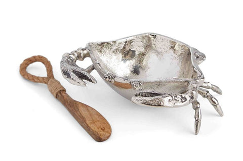 Crab Metal Dip Cup Set