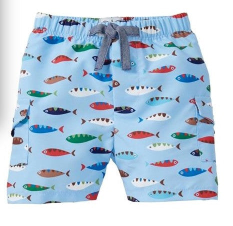 Boy Youth Fish Swim Suits