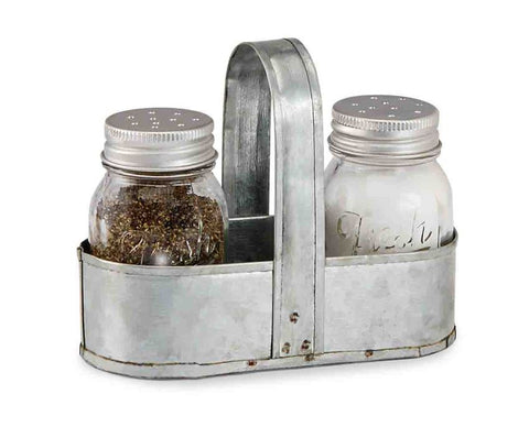 Fresh Jar Salt and Pepper Caddy Set