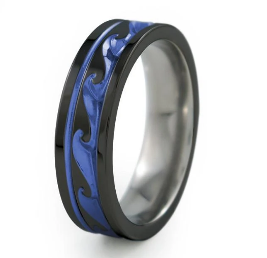 Black Titanium Rings: Science never looked so stylish!