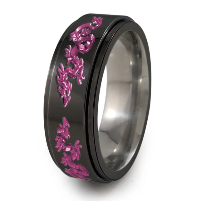 Colour Your Summer! Anodized Titanium Rings are the Summer Trend You Don't Want To Miss