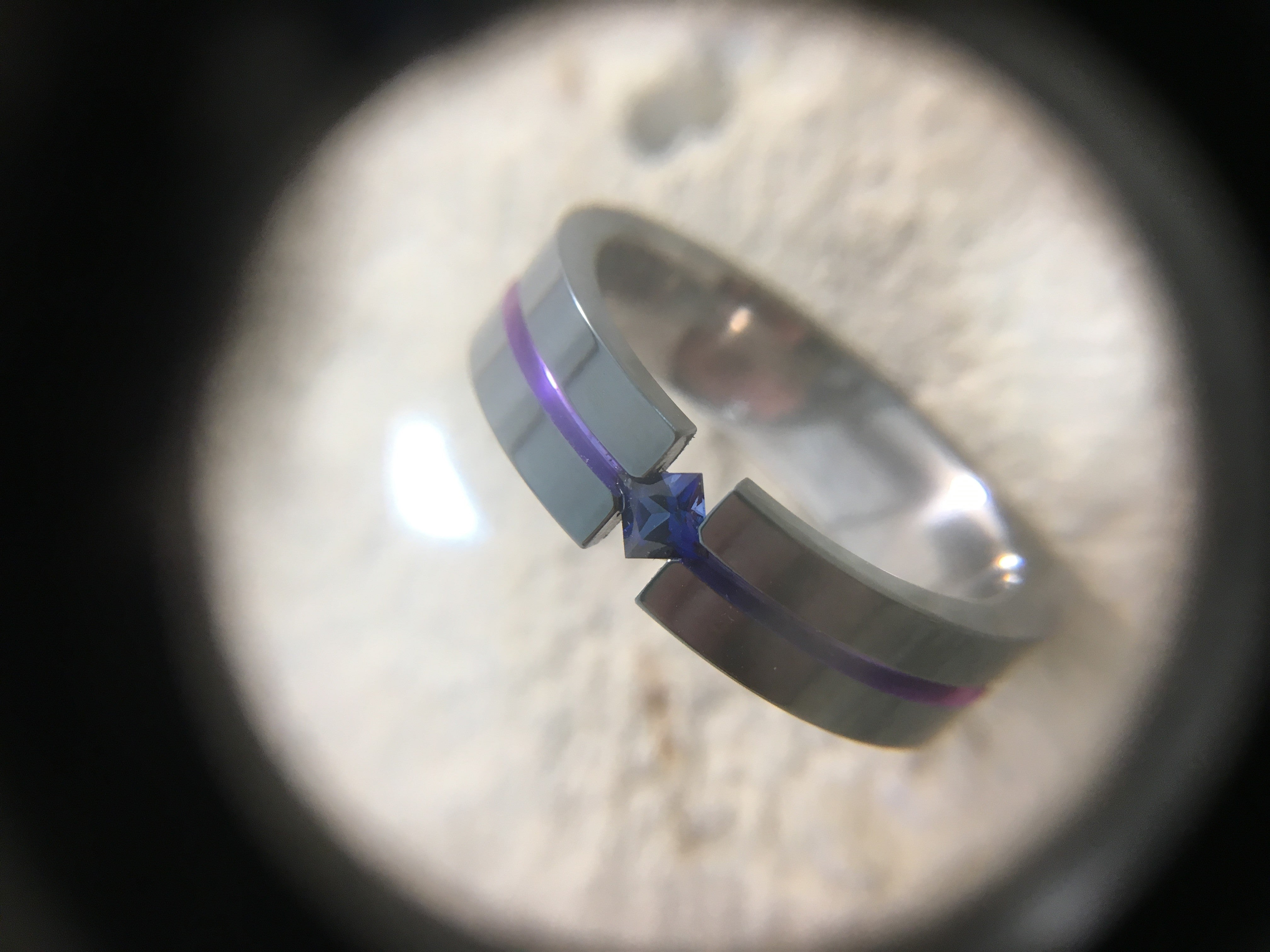 Sapphire Titanium Rings: The September Birthstone