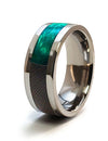 Meet Our Newest Collection: Wood Inlay Titanium Rings