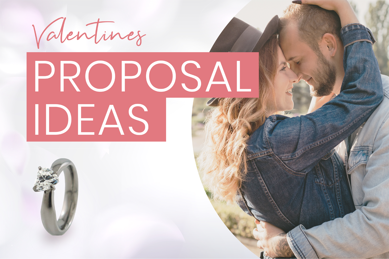 4 Unique Ways to Propose on Valentine's Day