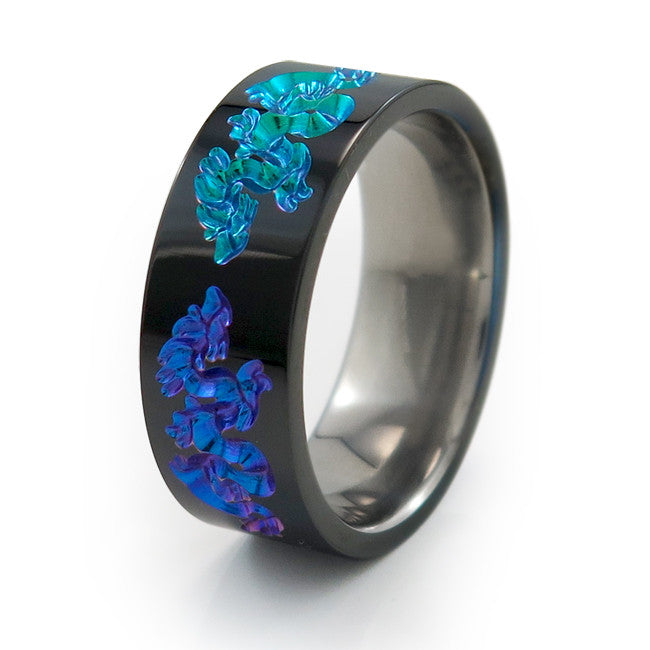 Titanium Rings In Colors You Love