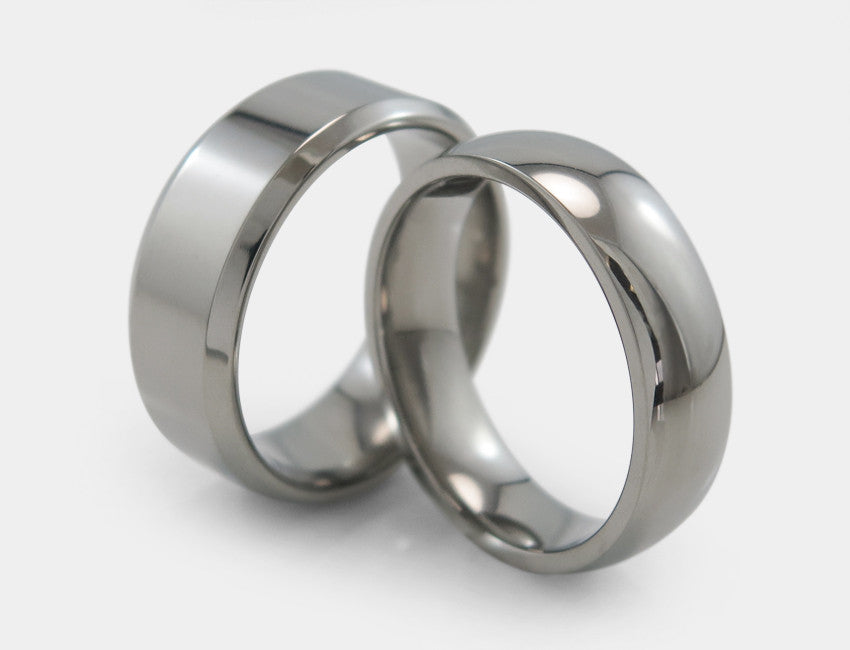 Most Popular Titanium Bands | TitaniumRings.com