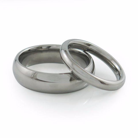 Matching Couple's Wedding Rings Titanium Rings