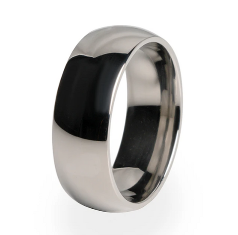 Eclipse Men's Titanium Ring