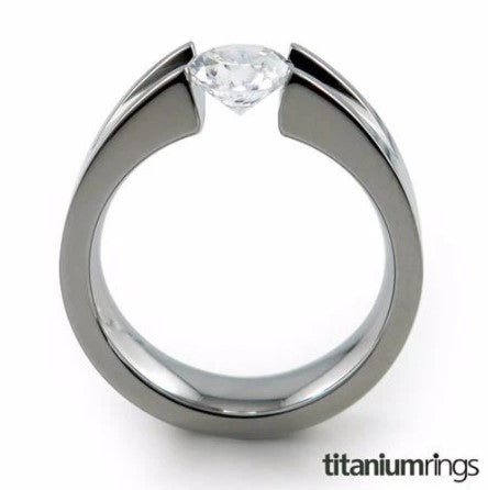 Tension Setting in the Haly Titanium Ring design