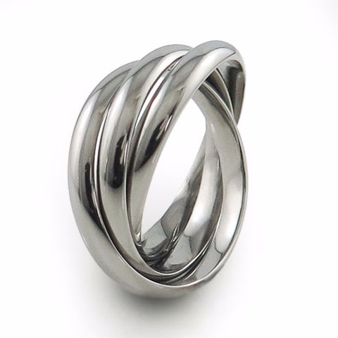 Trinary Titanium Ring