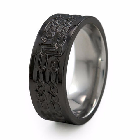 Galahad | Black Titanium Ring