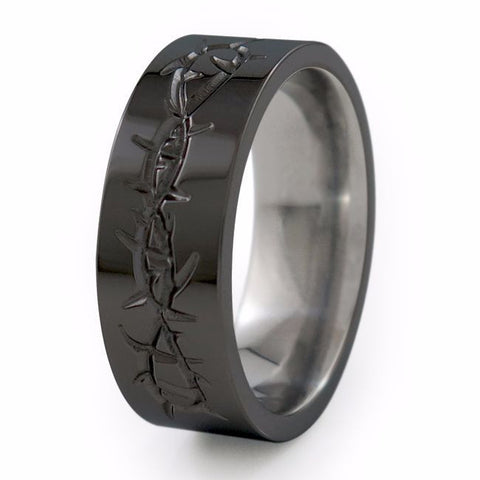 Taboo | Black Titanium Ring