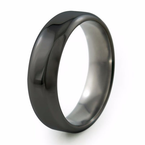 Contour | Black Titanium Ring
