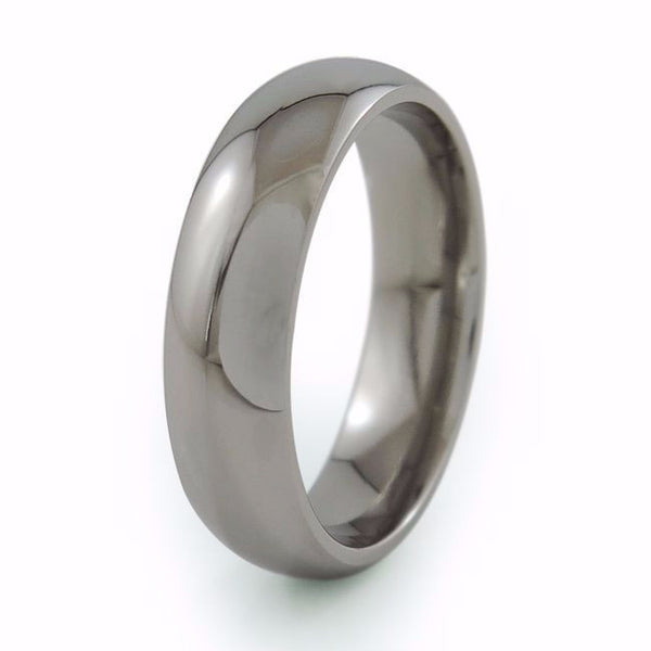 Mens Titanium Ring. Mens Titanium Wedding Band. Titanium Wedding collection