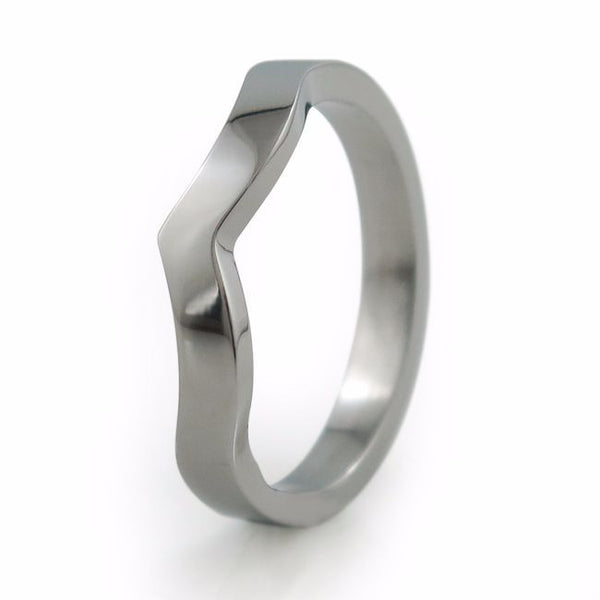 To Infinity | Titanium Companion Ring-Ring - Template 13-Titanium Rings