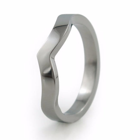To Infinity | Titanium Companion Ring