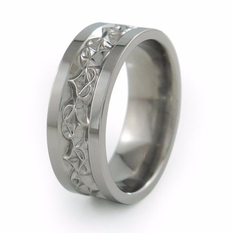 Amore | Mens Titanium Ring