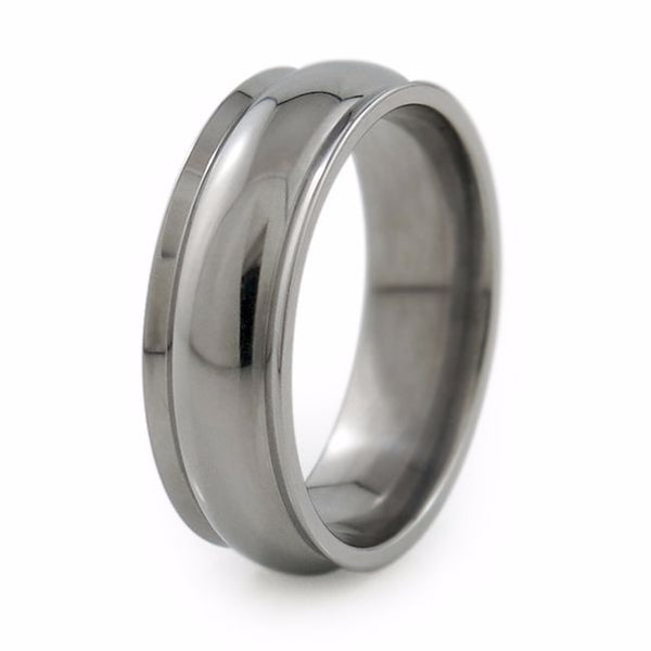 Titanium Wedding ring, titanium wedding band, classic titanium ring, comfort fit