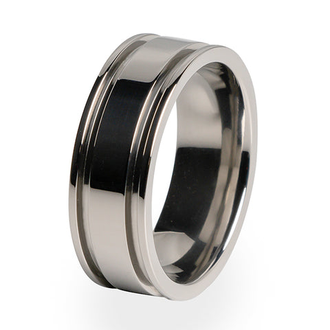 Abyss | Men's Titanium Ring