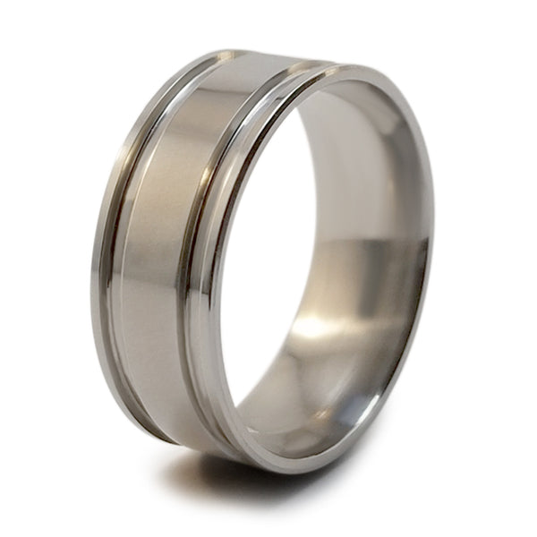 Abyss Stealth Titanium ring-Ring - Template 21-Titanium Rings