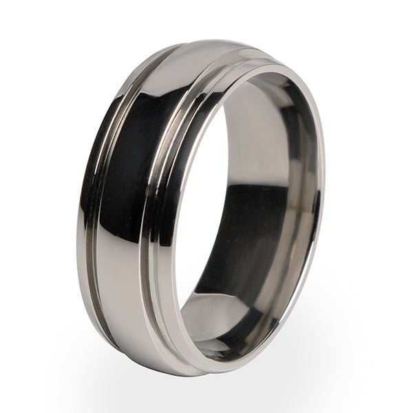 Bumblebee | Men's Titanium Ring-Ring - Template 1-Titanium Rings