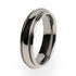 A simple yet elegant traditional design. Titanium wedding ring for women.