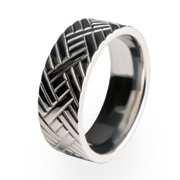 A traditional Titanium wedding ring. A perfect gift for any occasion.