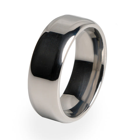 Contour | Mens Titanium Ring